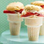 Strawberry Shortcake Cupcake Cones