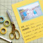 Creating a Generational Memory Book