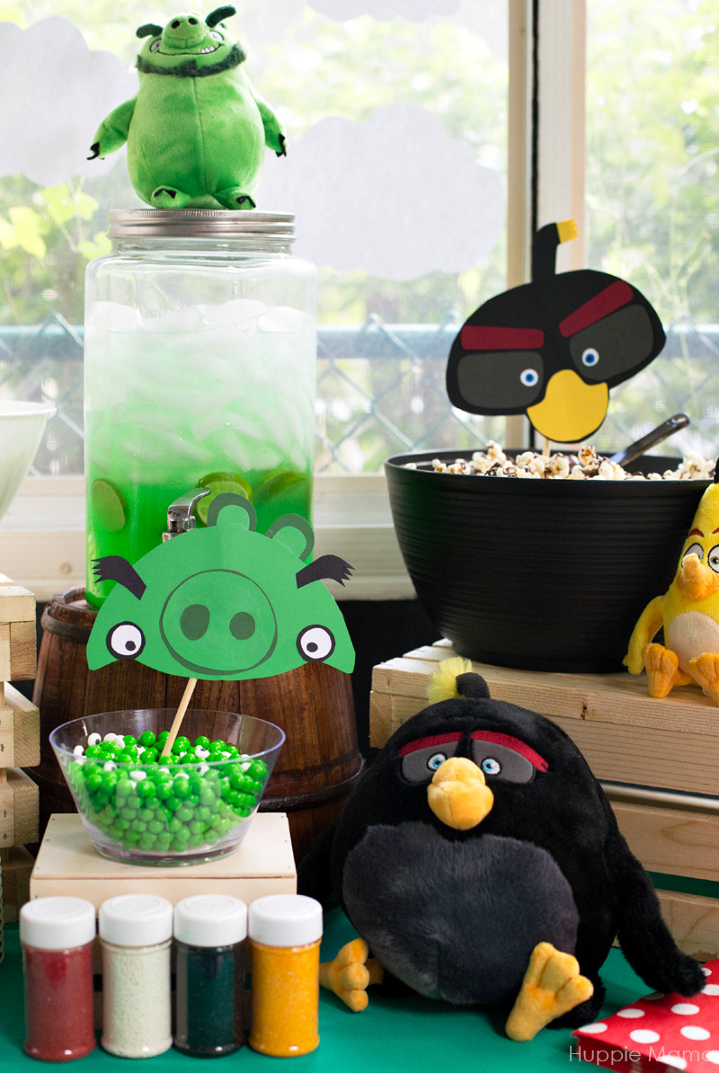 Angry Bird tables