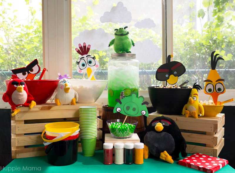Angry Birds Tablescape