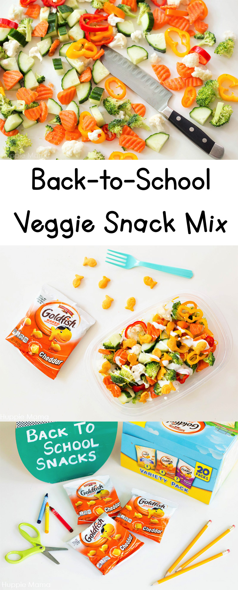 BTS Veggie Snack Mix