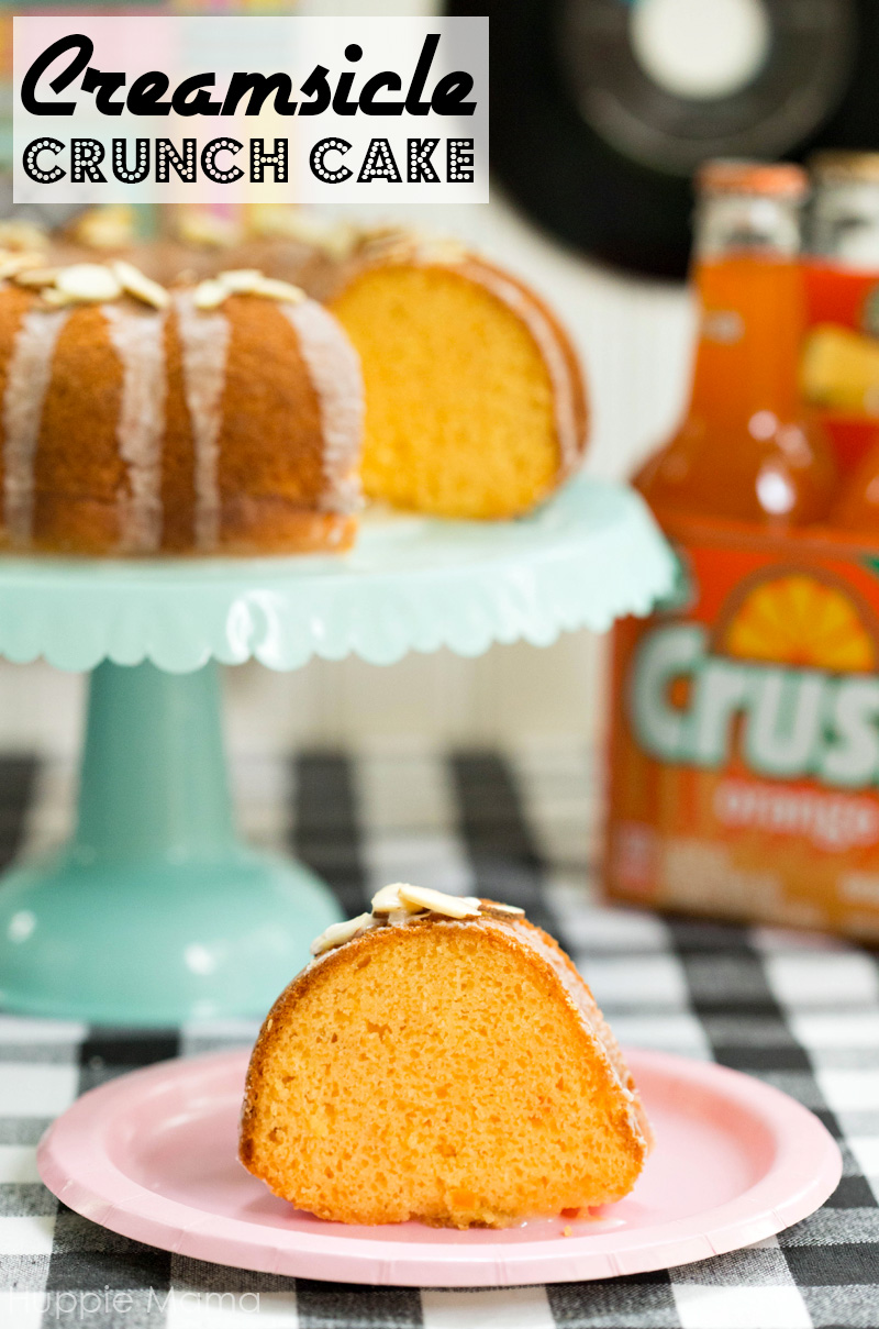 Creamsicle Crunch Cake