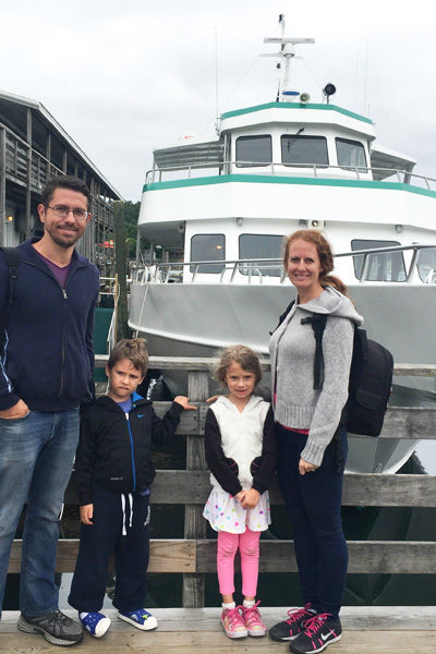 Whale Watching in Boothbay, Maine