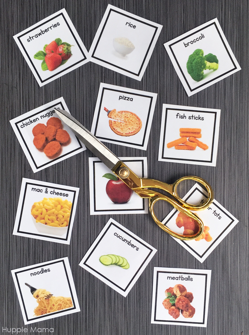 cut-food-cards