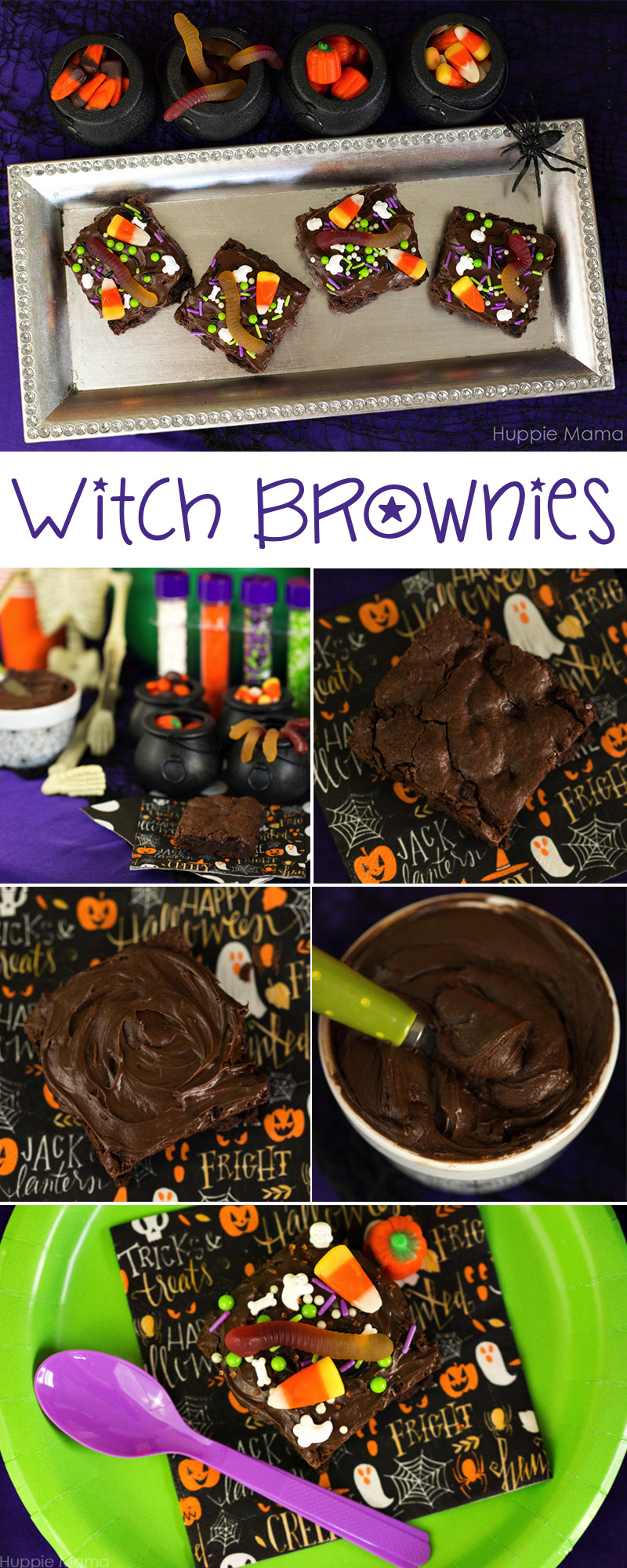 witch-brownies