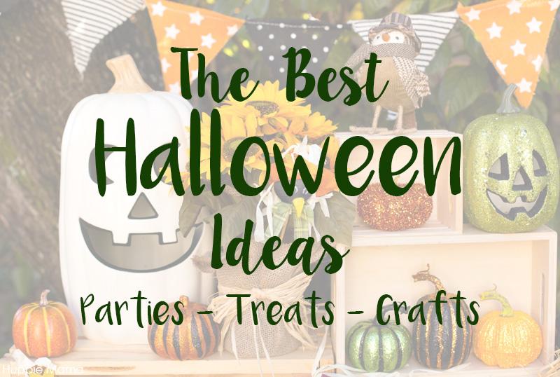 The Best Halloween Parties + Treats + Crafts