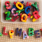Recycled Crayon Alphabet Tutorial