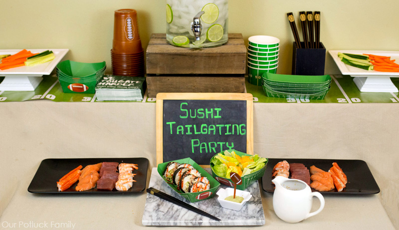 prepared-sushi-table