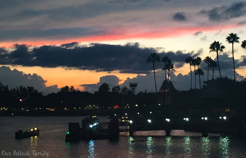 sunset-at-epcot