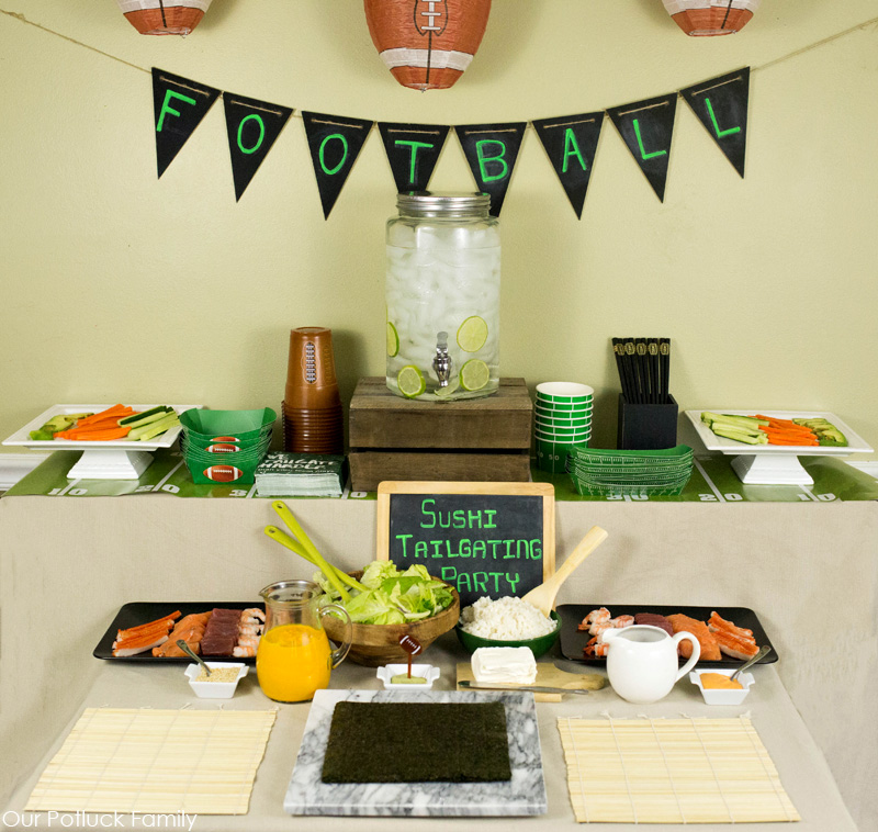 tailgating-party-table