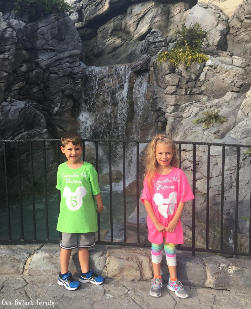 waterfall-kids