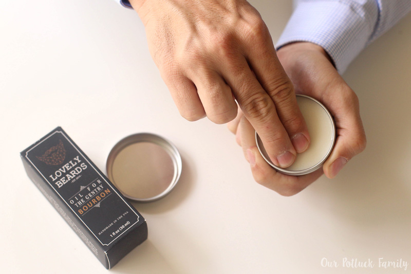 balm-on-fingers