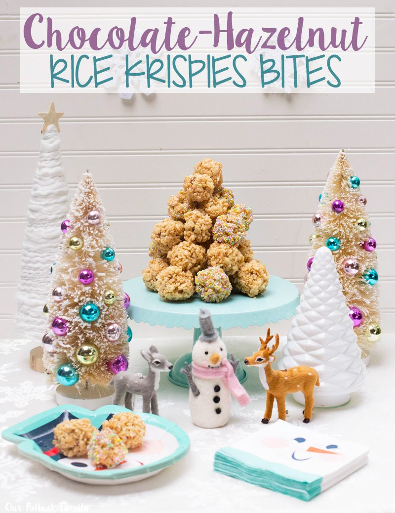 chocolate-hazelnut-rice-krispies-bites
