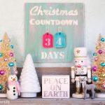 Vintage Christmas Countdown Calendar