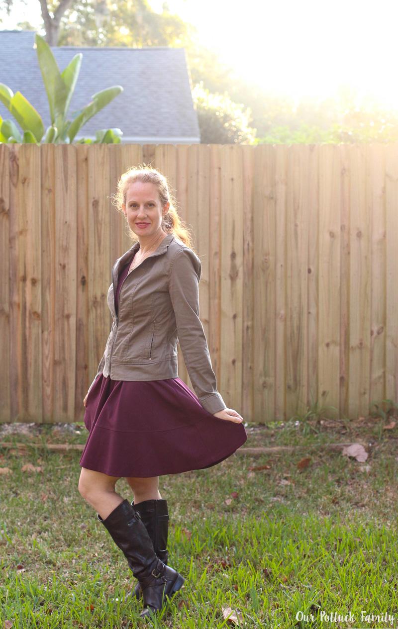 cranberry-skirt