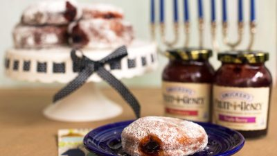 fruit-honey-sufganiyot
