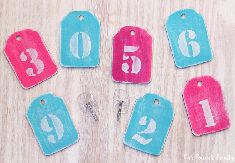 number-tags