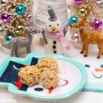 Chocolate-Hazelnut Rice Krispies Bites