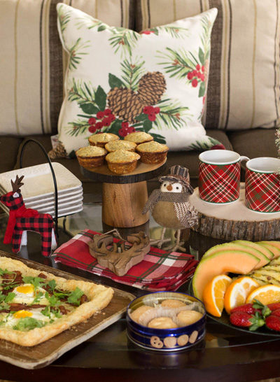 Rustic Cabin Holiday Brunch
