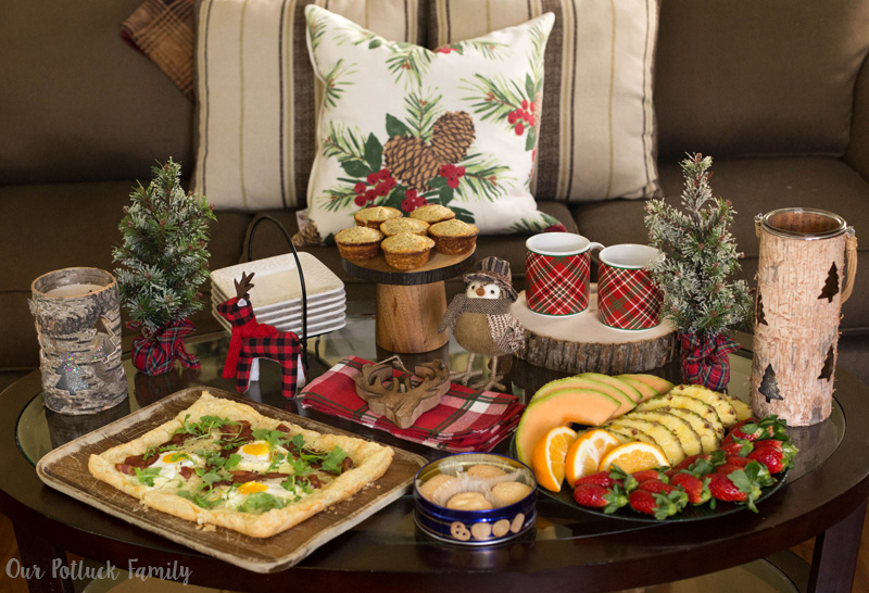 Christmas Party Potluck Ideas Part - 49: And Those Are All My Rustic Cabin Holiday Brunch Ideas. Now, Remember That  Embarrassing Throwback Photo I Promised? How Can I Deny It To My Readers  When ...