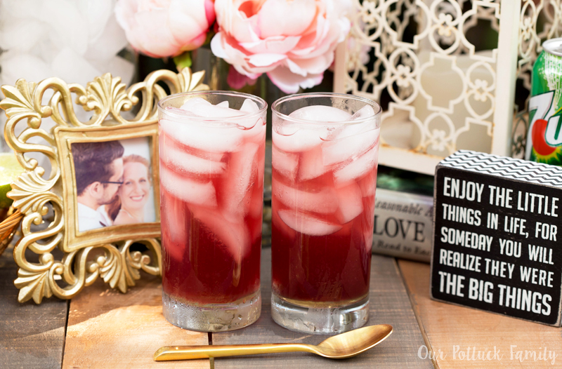 Grapefruit Pomegranate Fizz