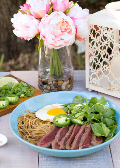 30-Minute Beef Pho for Two