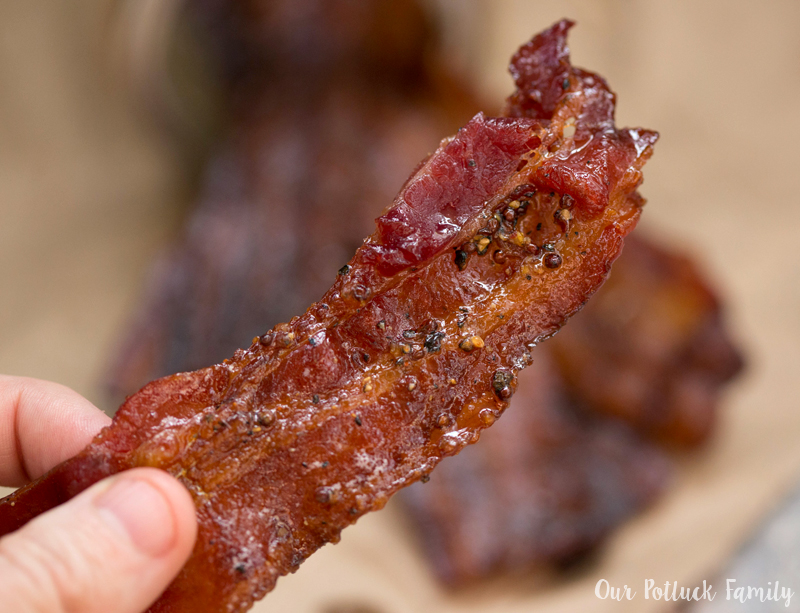 Candied Bacon piece