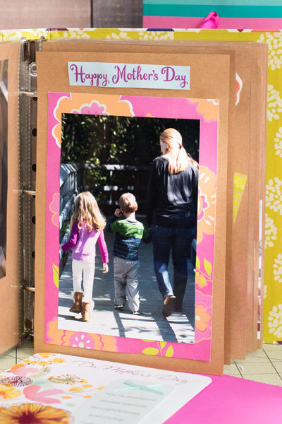 Mother's Day Scrapbook for a Special Aunt