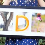 Name Photo Collage Craft