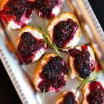 Blackberry Crostini