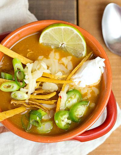 Easy 20-Minute Chicken Tortilla Soup