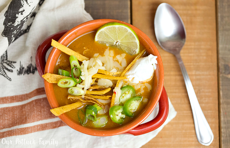 Easy 20-Minute Chicken Tortilla Soup