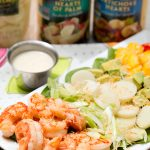 Tropical Shrimp Salad with Vanilla Vinaigrette