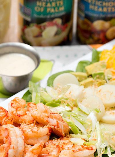 Tropical Shrimp Salad with Vanilla Vinaigrette