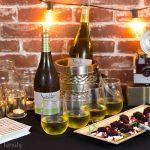 Speakeasy Party Ideas + Blackberry Goat Cheese Crostini