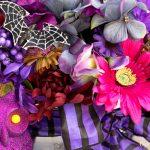 Purple FALLoween Centerpiece