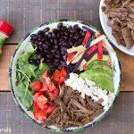 Shredded Beef Burrito Bowls