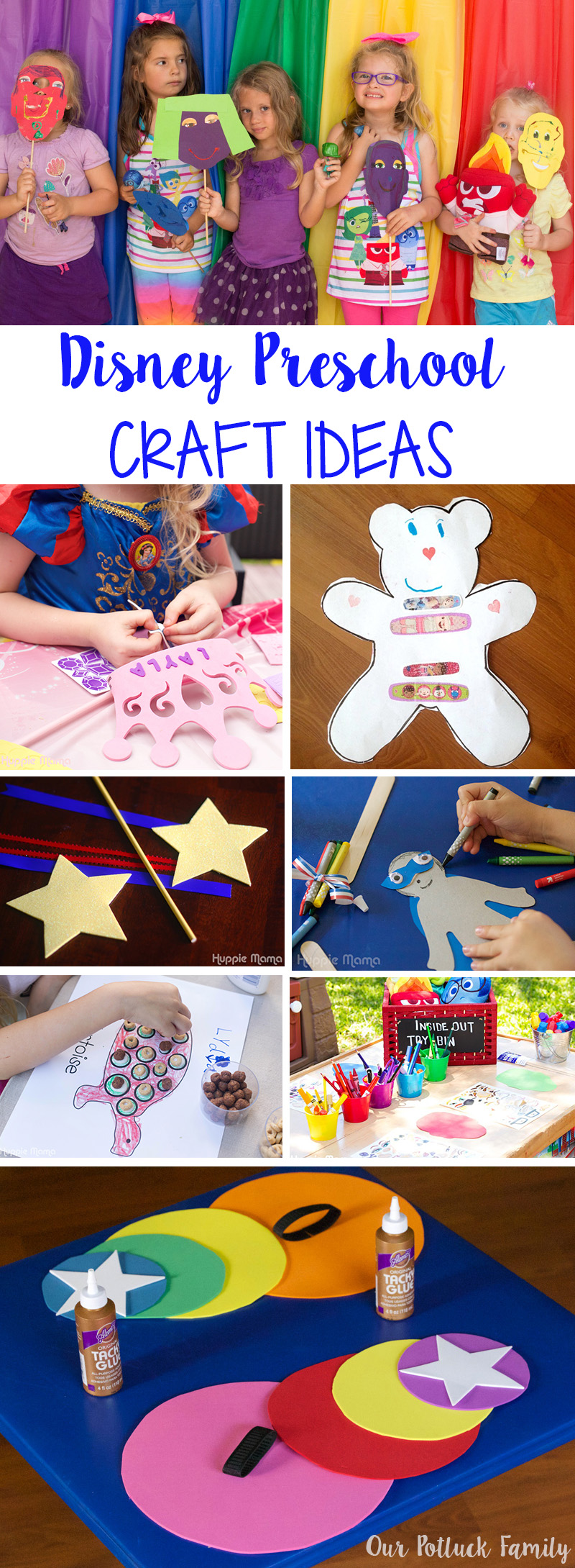 Disney Preschool Craft Ideas
