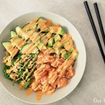 Spicy Salmon Sushi Bowl