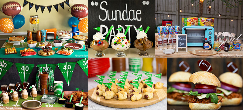 The Best Super Bowl Party Ideas Our Potluck Family
