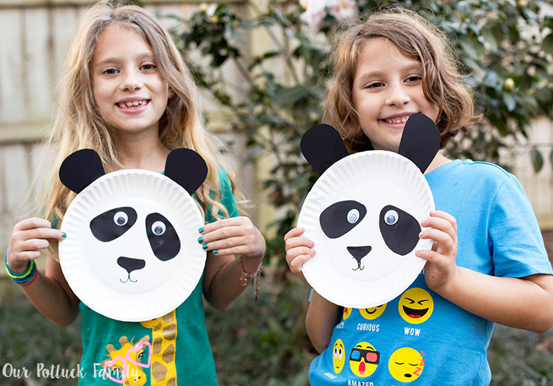 Celebrate Chinese New Year with Kids panda
