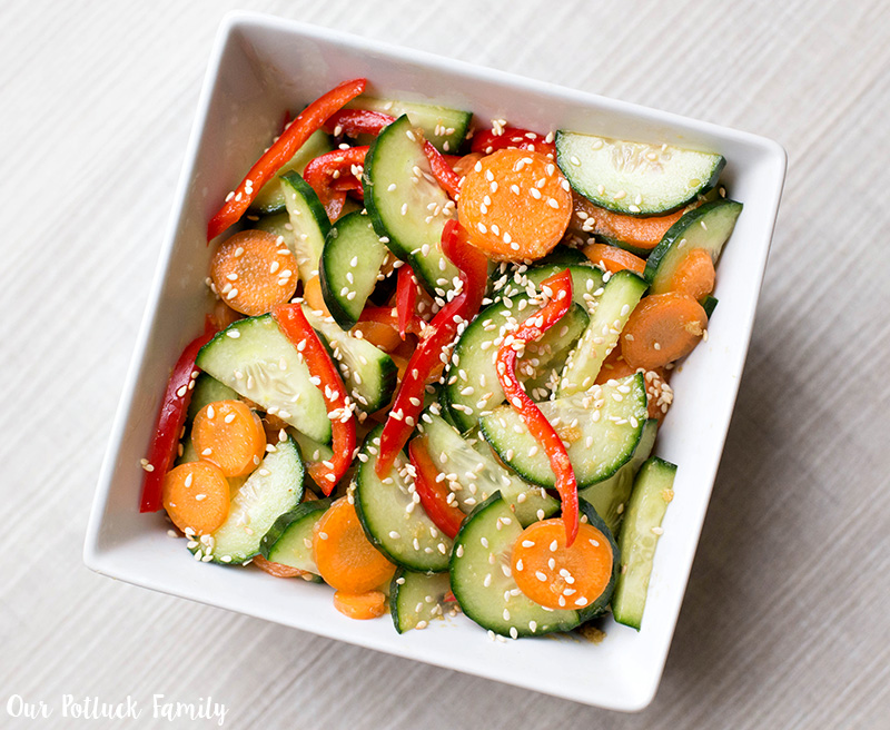 Celebrate Chinese New Year with Kids salad