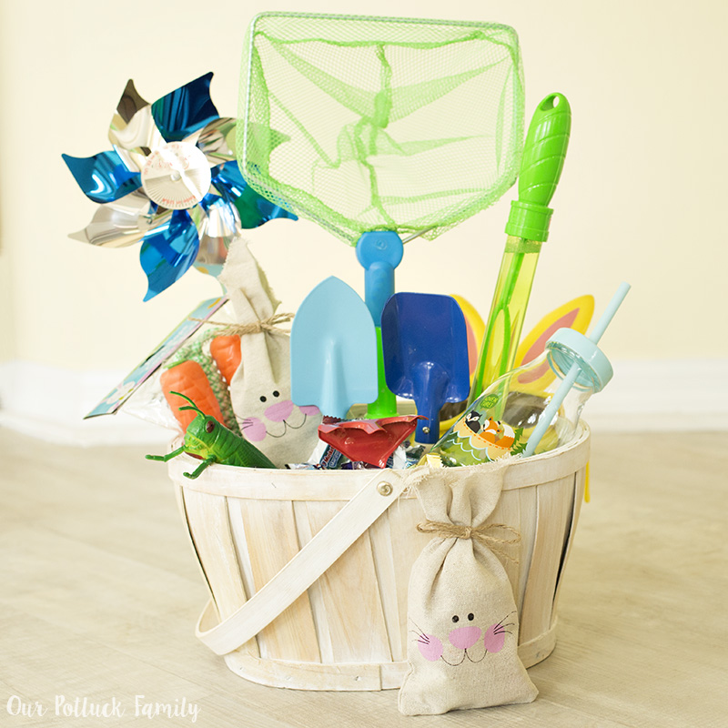 Easter basket for active boys our potluck family check out these other fun easter ideas with mars products negle Gallery
