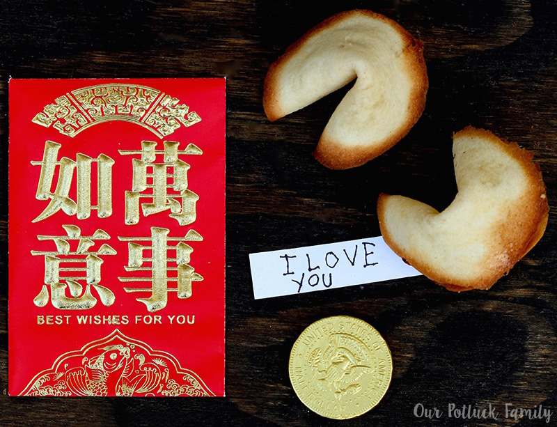 Celebrate Chinese New Year Homemade Fortune Cookies