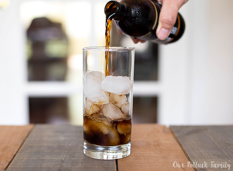 Maple Vanilla Iced Coffee Cold Brew