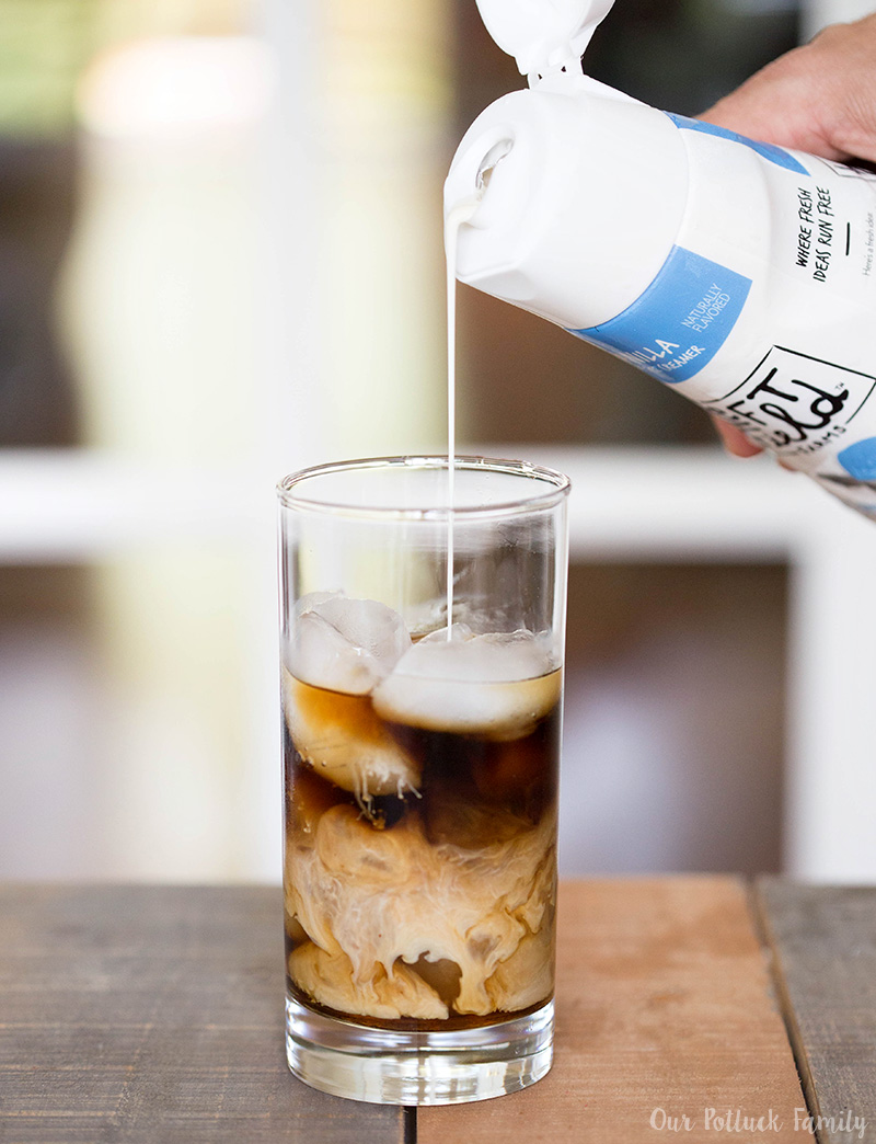 Maple Vanilla Iced Coffee cream