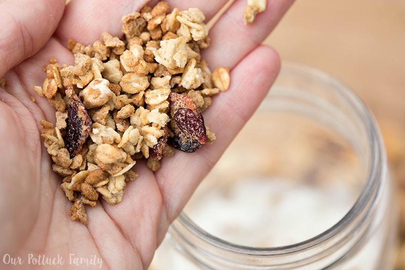 Pre-workout Parfait Recipe cereal