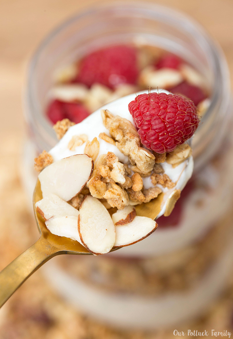 Pre-workout Parfait Recipe ingredients