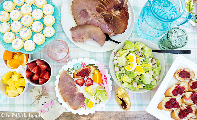 Easter Garden Party Food