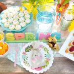 Springtime Easter Garden Party Ideas